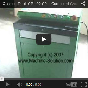 AABES © Cushion Pack CP429 Series2+ High Capacity Cardboard Shredder for Worm Farmers - CUSHION CP429 S2