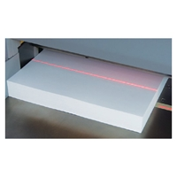 Formax Cut-True 29H Hydraulic Guillotine Paper Cutter - LED Cutting Line shows exactly where the blade will cut