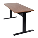 "Luxor SPN48F-BK/TK - 48"" Pneumatic Adjustable Height Standing Desk"