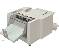 SCORING UNIT - The 508A can be used as a perforator by replacing a perf unit to the folding table. It is also possible to add or replace perf / score / kiss cut heads on a unit to give multiple finishing styles in one pass