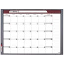"Quartet 72981 InView Custom Whiteboard, 47.5"" x 35"", Total Erase, Graphite Frame"