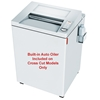 "MBM Destroyit 4002 3/32"" x 5/8"" Cross Cut Paper Shredder  MBM Destroyit 4002 3/32"" x 5/8"" Cross Cut Paper Shredder"