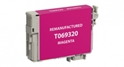 Compatible EPSON 69 INK Magenta - Page Yield 350 inkjet cartridge, remanufactured, compatible, printer, ink, t069320, epson stylus c120; epson all-in-one cx5000, cx6000, cx7000f,cx7400, cx7450, cx8400, cx9400fax, nx100, nx115, nx200, nx215, nx300, nx305, nx400, nx415, nx510, nx515; workforce all-in-one 30, 40, 310, 500, 600, 610, 1100 - magenta