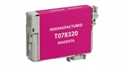Compatible EPSON 78 INK Magenta - Page Yield 430 inkjet cartridge, remanufactured, compatible, printer, ink, t078320, epson stylus r260, r280, r380, rx580, rx595, rx680 - magenta