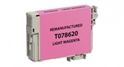 Compatible EPSON 78 Light Magenta - Page Yield 430 inkjet cartridge, remanufactured, compatible, printer, ink, t078620, epson r260, r280, r380, rx580, rx595, rx680 - light magenta