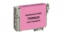 Compatible EPSON 99 Light Magenta - Page Yield 450 inkjet cartridge, remanufactured, compatible, printer, ink, t099620, epson artisan aio  700, 710, 725, 730, 800, 810, 835, 837 - light magenta