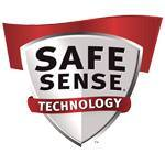 SafeSense Stops shredding when hands touch the paper opening