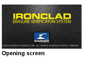 Garner TS-1 Ironclad NSA Approved Degausser Erasure Verification System - TS-1 Ironclad