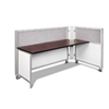 Swiftspace Solo Single Surface Space-Saver Left 4' x 3' Collapsible Workstation SS4148L4134R