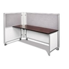 Swiftspace Solo + Single Surface Space-Saver Left 4' x 3' Collapsible Workstation SS5248L5234R