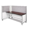 Swiftspace Solo + Single Surface Space-Saver Left 4 x 3 Collapsible Workstation SS5248L5234R