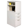 Swiftspace Platinum Finish Left Facing Mobile Tower Box-Box-File Cabinet GSSBBFTOWERL