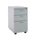 Swiftspace Platinum Finish Mobile Pedestal File-File Cabinet GSSFF