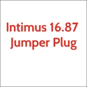 "Intimus 16.87 Jumper Plug for 16.87 1/4"" x 2"""
