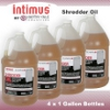 Intimus 78839 Paper Shredder Oil 4-1 Gallon Bottles