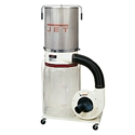 Jet DC-1100VX-CK1 Dust Collector with Tubing, Clamp, Micron Filter