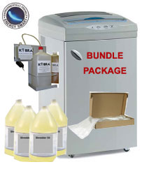 Kobra 400 HS-OM Shredder Bundle with Oiler, Bags, Oil Kobra 400 HS-OM Shredder Bundle with Oiler, Bags, Oil