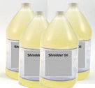 ProSource Bulk Shredder Oil 4 Pack of 1 Gallon Bottles