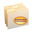 Smead 10338 File Folders with Antimicrobial Product Protection (Bundle: 5 BX) Fastener Folders