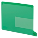 Smead 61952 End Tab Poly Out Guides, Two-Pocket Style Two Pocket Folder