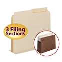 Smead 68035 SuperTab Pocket Dividers (Bundle: 10 PK) File Labels