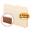 Smead 68070 SuperTab Pocket Dividers (Bundle: 10 PK) File Folders