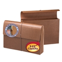 Smead 71356 Leather-Like Expanding Wallets with Elastic Cord File Folders