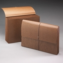 Smead 72375 Leather-Like Partition Wallets with Elastic Cord File Pocket
