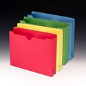 Smead 75673 Colored File Jackets Fastener Folders