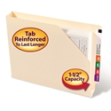 Smead 75740 End Tab File Jackets with Shelf-Master Reinforced Tab Fastener Folders