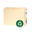 Smead 76510 100% Recycled End Tab File Jackets File Folders