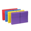 Smead 77300 Colored Expanding Wallets with Antimicrobial Product Protection (Bundle: 10 PK) Fastener Folders