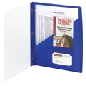 Smead 86011 Clear Front Poly Report Covers with Fasteners (Bundle: 10 PK) File Labels