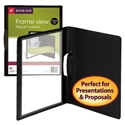 Smead 86043 Frame View Poly Report Covers with Swing Clip (Bundle: 10 PK) File Labels