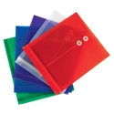 Smead 89501 Poly Envelope 5 pack (Bundle: 12 PK) Fastener Folders