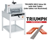 "Triumph 4815 Semi-Automatic 18-5/8"" Paper Cutter Value Kit with 1 box cutting sticks and 1 extra blade Triumph 4815 Semi-Automatic 18-5/8"" Paper Cutter Value Kit with 1 box cutting sticks and 1 extra blade"