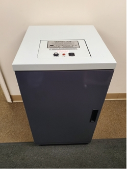 Infostroyer 151 HP-C Bundle NSA Approved includes Custom Metal Cabinet and Large 6 gallon internal vacuum