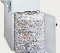 "MBM Destroyit 4108 1/4"" Strip Cut Paper Shredder - DSH0345"
