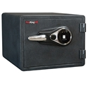 FireKing KY0913-1GRFL Fingerprint Dial Fire Proof Business Safe, 3 Locking Bolts FireKing KY0913-1GRFL Fingerprint Dial Fire Proof Business Safe, 3 Locking Bolts
